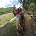Freundliche Menschen auf Lombok