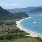 Fliegen im Süden Lomboks