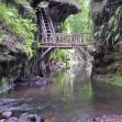 Wanderung zum Wasserfall Ost-Java