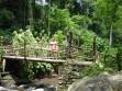 Weg zum Wasserfall, Ost-Java
